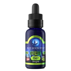 Blue Moon Hemp Vape E-Liquids Review