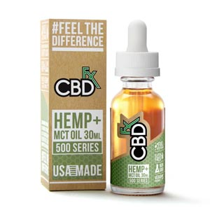 CBDfx CBD Oil for Sleep and Insomnia