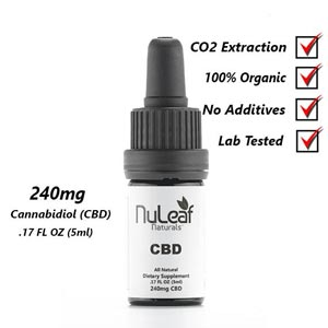 NuLeaf Naturals CBD Oil for Pain Management