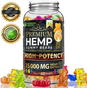 Hawaiian Health Premium Hemp Gummy Bears