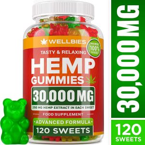 wellbies tasty & relaxing hemp gummies